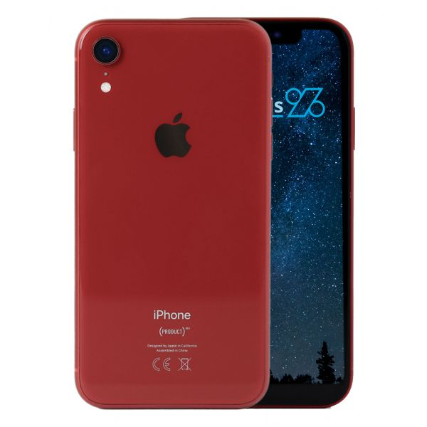 Apple iPhone XR  Smartphone ohne Vertrag 64 GB, rot